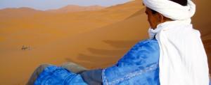 Meharée entre désert et oasis