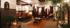 Charme et d'authenticité d'une maison d'hôte Marrakchia
